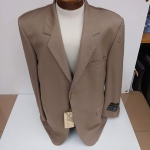 Men's Brown Sport Jacket Hickey Freeman